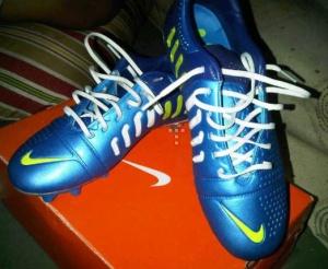 jual sepatu futsal nike ctr  360 blue biru